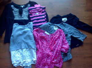 Lot hauts Hollister, Abercrombie et American Eagle taille small