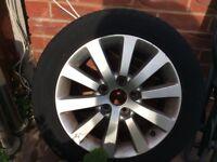 Honda Civic spare alloy wheel