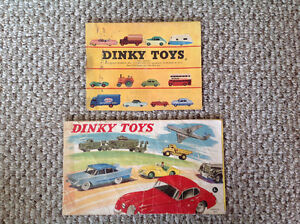 1950's DINKY TOY CATALOGUES