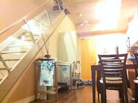 2 Storey Condo Loft At Distillery with Huge Terrace + Parking