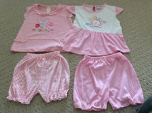 Size 18 months Toddler girls summer time outfits, NEW