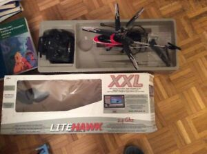 LITEHAWK XXL remote controlled helicopter