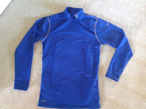NIKE TURTLE NECK SHIRT...size L... Long sleeved