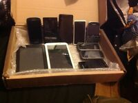 Job lot of phone and tablet Nokia Samsung Sony kindle