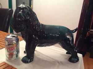 HUGE Blue Mountain Pottery Cocker Spaniel!
