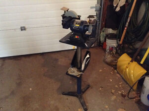 Bench Grinder with stand Cambridge Kitchener Area image 2
