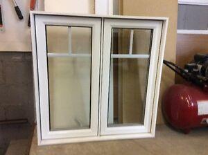 Fenêtre en PVC et bois