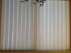 NEW. VERTICAL  BLINDS  -FABRIC OR PLASTIC North Shore Greater Vancouver Area image 2