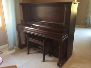 Nordheimer Cabinet Grand Upright Piano