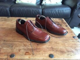 Men's, Filanto, Easy Life, Italian, Brown Leather Shoes, Size 9 / 43