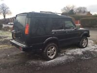 LAND ROVER DISCOVERY TD5 7 SEATER 04 PLATE