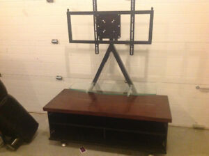 TV Stand with Mounting Brackets