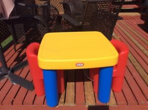 Little tikes table and chairs