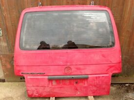 VW T4 Transporter Tailgate and Glass 1998