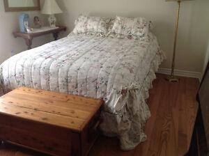 Beautiful Full Bed Ensemble