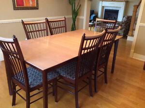 Mobilier salle à manger avec buffet - Négociable