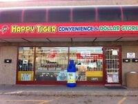 convenience and dollar store for sale.