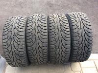 4 pneus hiver habkook ipike 225 50 r 17