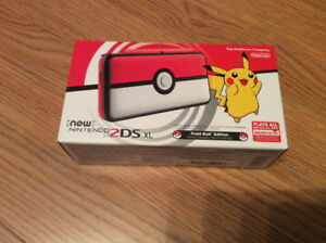 Console New Nintendo 2DS XL - Pokeball Edition (neuf/new)