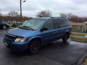 2007 Dodge Grand Caravan dark Hatchback