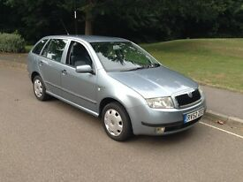 Skoda fabia 1.4 Automatic estate air con 45000 miles £1495