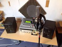 Pro home recording studio for sale !