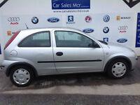 Vauxhall/Opel Corsa 1.0i 12v 2005MY Life full 12 months mot
