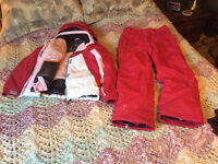 Fire Fly 2 pce Snow Suit