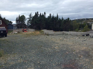 Oversize lot with foundations for house and garage St. John's Newfoundland image 4