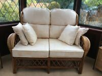 Attractive Conservatory cane furniture set
