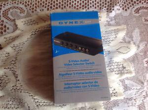 Dynex S-video Audio or Dynex RF Modular
