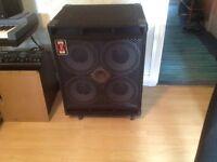 Eden 4x10 x.l.t. 700 watt bass cabinet