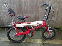Brand-new unused 2004 Raleigh chopper bike mk3