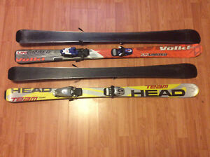 Junior skis 127 & 130 cm