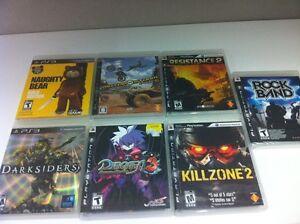Plusieurs Jeux PS3 à Vendre