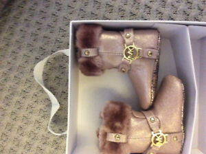 Michael kors size 2 booties for infant