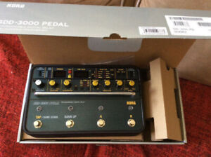 mint condition korg sd3000 delay pedal