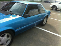 FORD MUSTANG 1991 LX NOTCHBACK 5.0 ORIGINAL