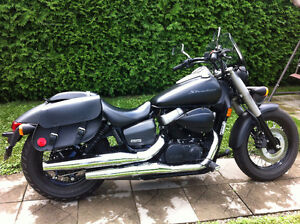 Honda Shadow Phantom 2012 Noir Mat