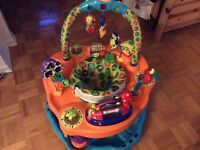 Play saucer activity station