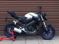 Yamaha MT 125 ABS 2015. Only 2049miles. Delivery Available *Credit & Debit Cards Accepted*