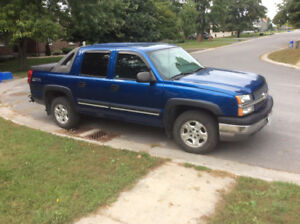 2004 Chev Avalanche Z66 for Sale - vehicle sold pending pick up