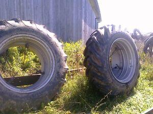 Roues doubles tracteur 16.9 - 34
