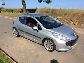 Peugeot 207 verve 1.4 petrol 2009 new mot 71,000 miles