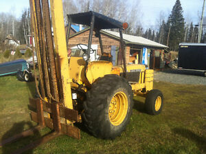 All terrain forklift 1st 5000.00 takes it