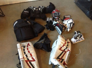 Goalie equipment-all or individual parts for sell 525$ obo