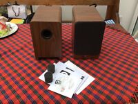 Q acoustic 2020i award winning speakers 3 months old as new