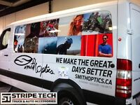 Vehicle Graphics Wraps and Decals, Serving Cgy since 1979