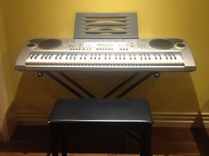 Casio keyboard in excellent condition.
