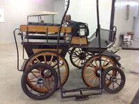 Wagonnette pour Cheveaux Vandenheuvel